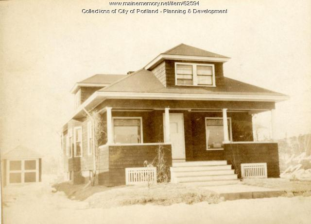 144 Massachusetts Avenue, Portland, 1924