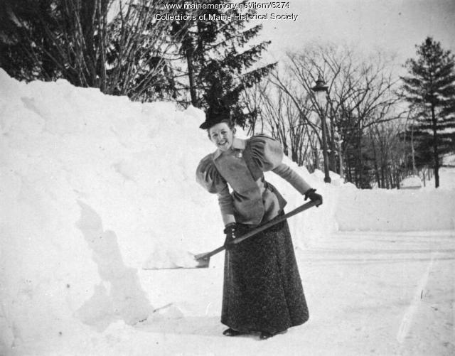 Edith Knight Moulton, ca. 1900