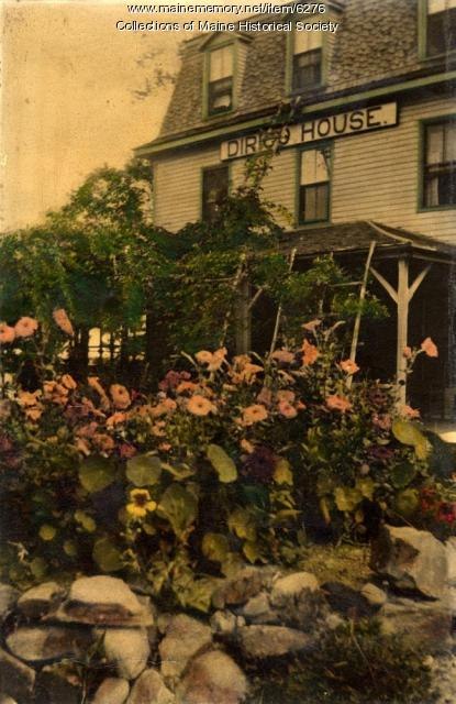Dirigo House, Long Island, ca. 1930.