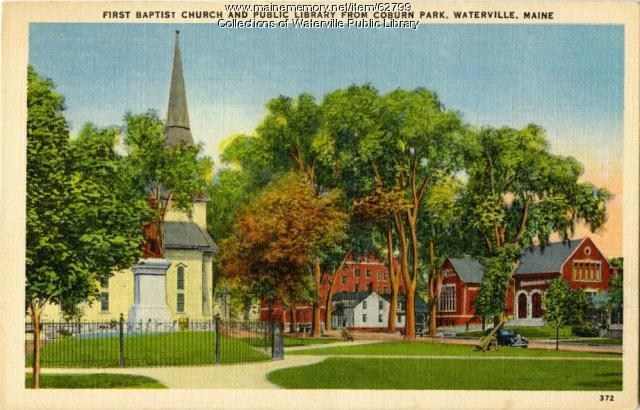 Coburn Park area, Waterville, ca. 1940