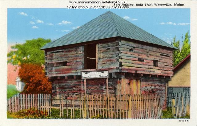 Fort Halifax, Winslow, ca. 1940