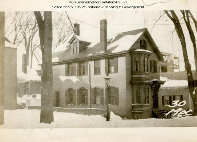 30 Mechanic Street in 1924. Maine Memory Network