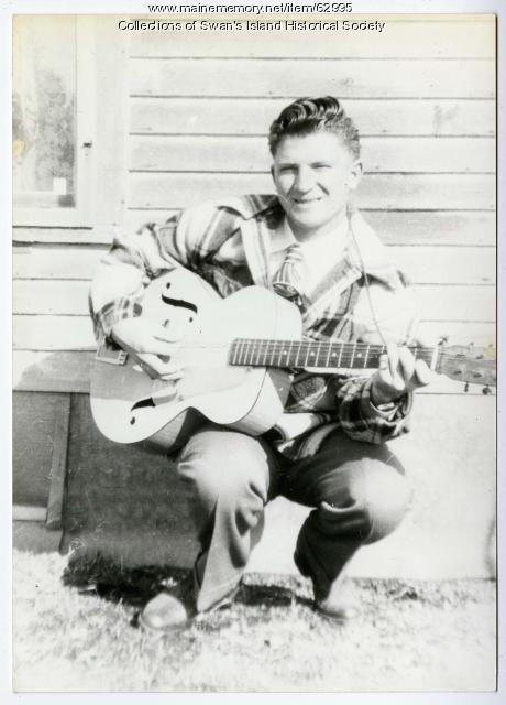 Theodore 'Bud' Turner Sr., Swans Island, ca. 1948
