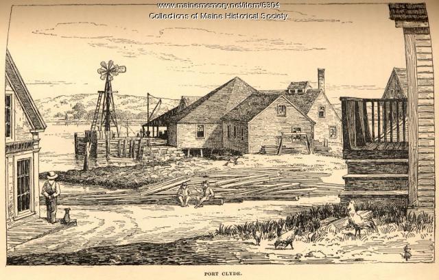 Port Clyde, ca.   1890