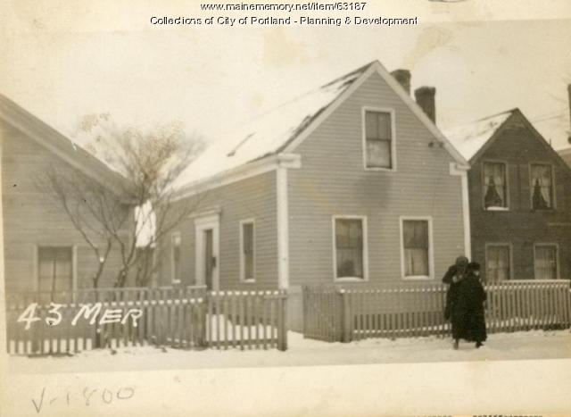 43 Merrill Street, Portland, 1924