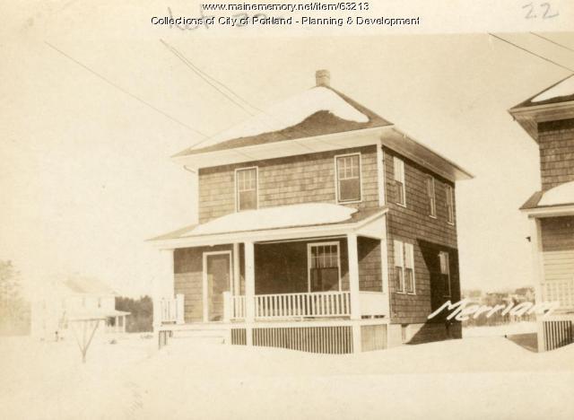 13-15 Merriam Street, Portland, 1924