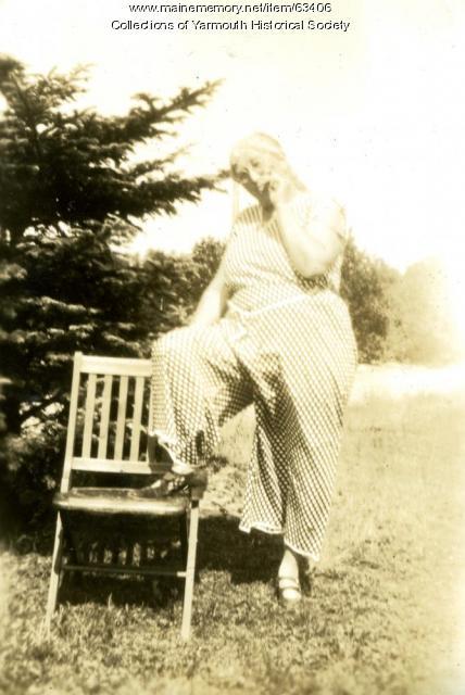 Connie Duran, Cousins Island, ca 1920