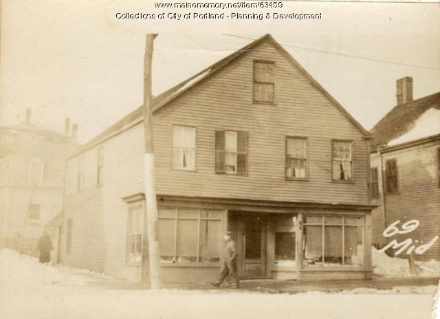 69 Middle Street, Portland, 1924