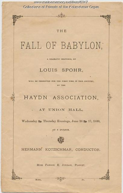 Spohr's FALL OF BABYLON cover page