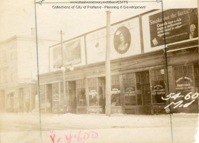 56-60 Middle Street, Portland, 1924