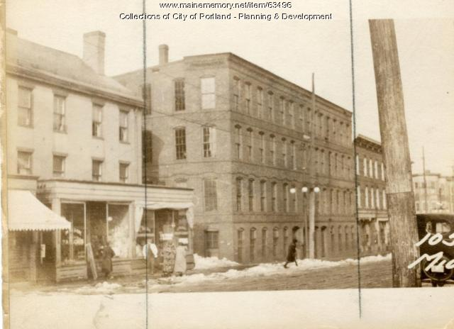 101-107 Middle Street, Portland, 1924