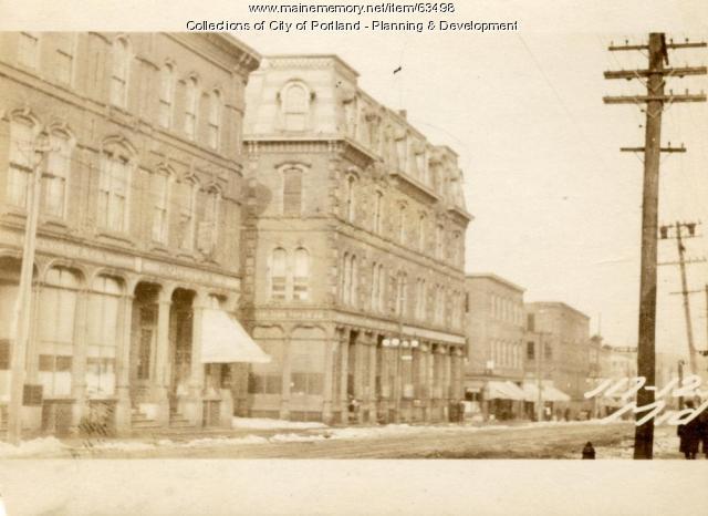 117-125 Middle Street, Portland, 1924