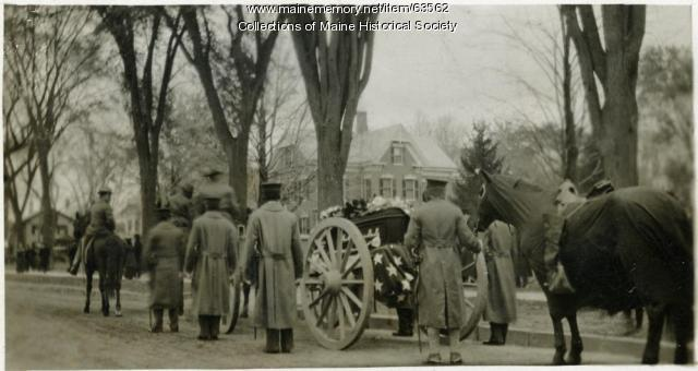 Gen. O.O. Howard funeral, Burlington, Vt., 1909