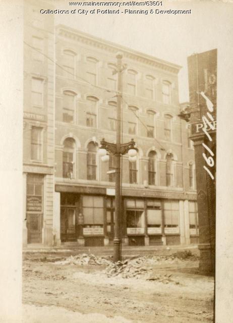157-161 Middle Street, Portland, 1924