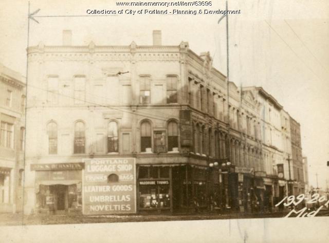 205-207 Middle Street, Portland, 1924