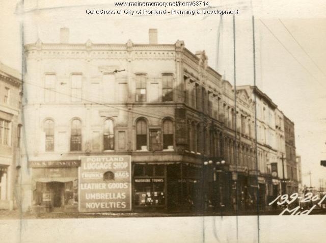 199-201 Middle Street, Portland, 1924