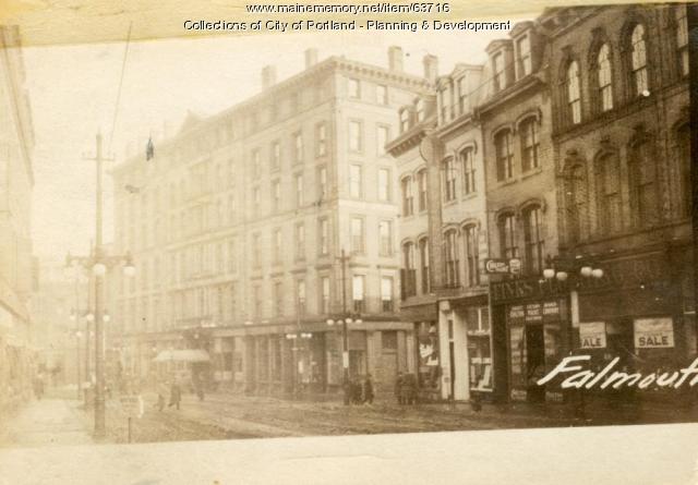 208-222 Middle Street, Portland, 1924