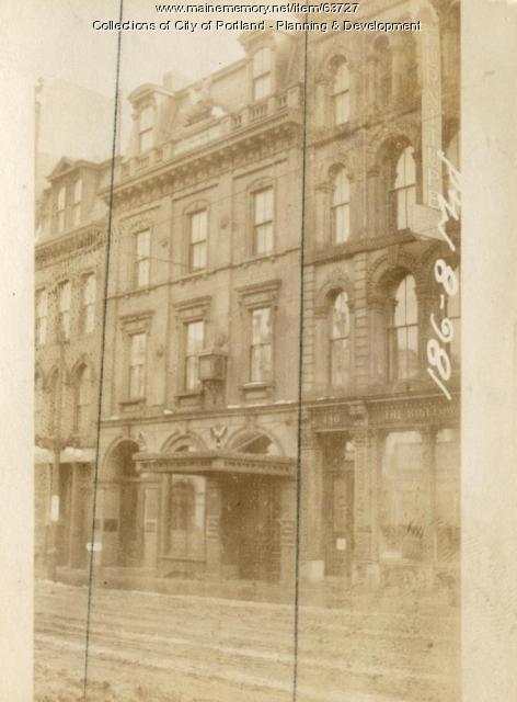 186-188 Middle Street, Portland, 1924
