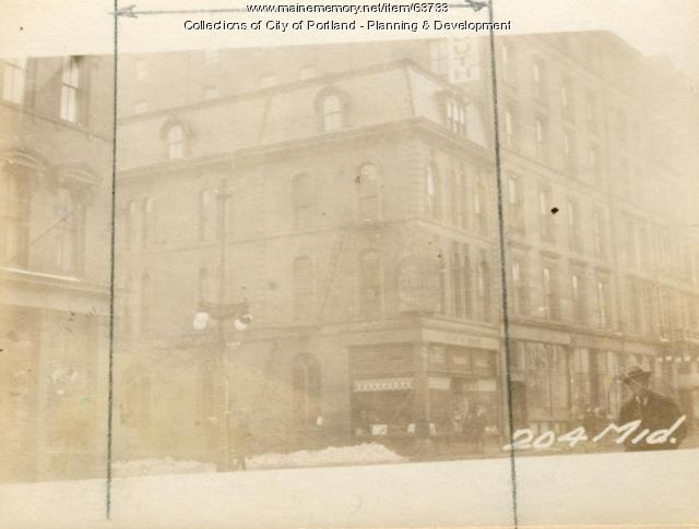 204-206 Middle Street, Portland, 1924