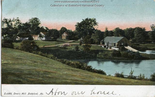 Drew's mill, Biddeford, ca. 1920