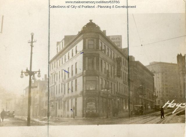 256-262 Middle Street, Portland, 1924