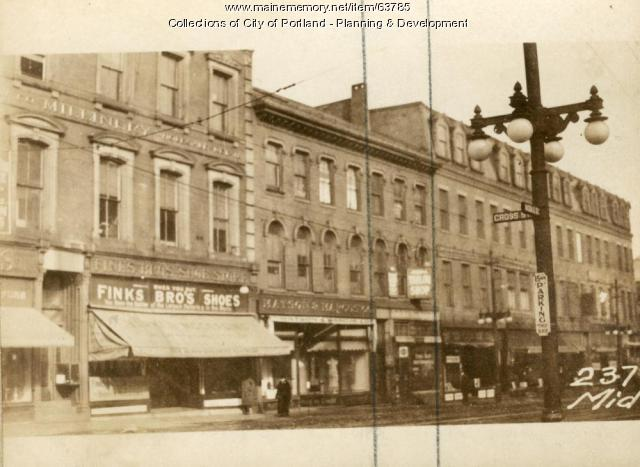235 Middle Street, Portland, 1924