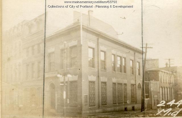 246 Middle Street, Portland, 1924