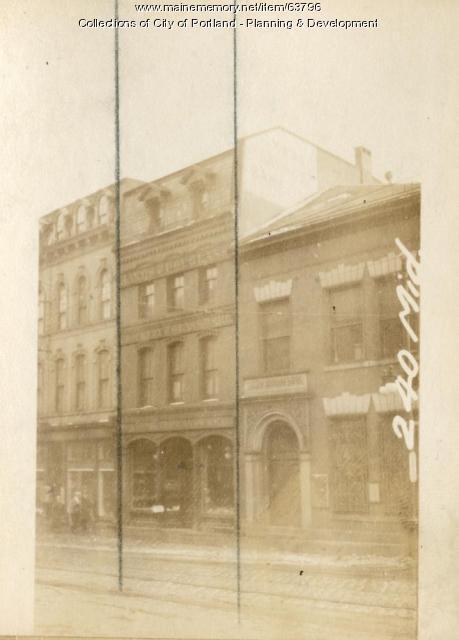 242 Middle Street, Portland, 1924