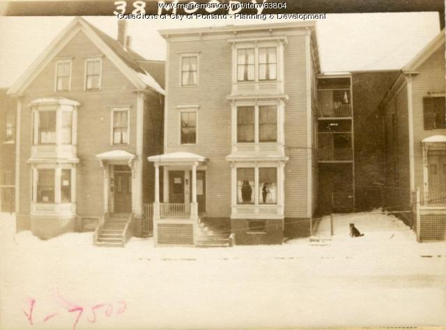 38 Moody Street, Portland, 1924