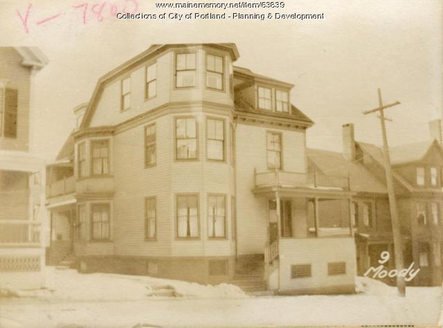 9 Moody Street, Portland, 1924