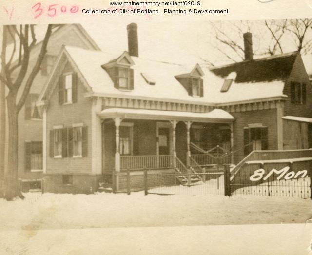 8-10 Monument Street, Portland, 1924