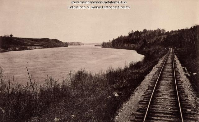 Kennebec River from M.C.R.R.
