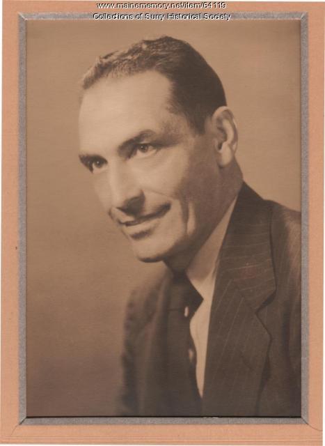 Claude L. Bonsey, Surry, ca. 1960