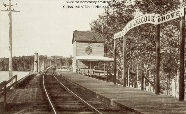 Maine Central Railroad Station, Lake Maranacook