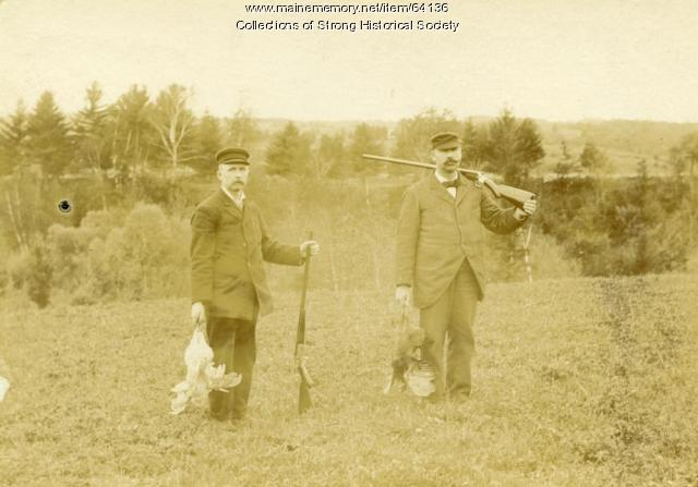 Bird hunting, Strong, ca. 1905