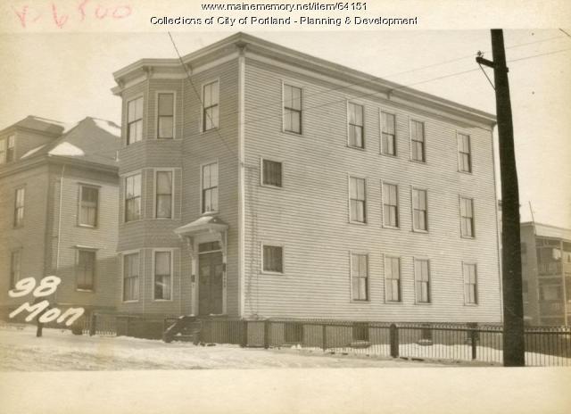 98 Monument Street, Portland, 1924