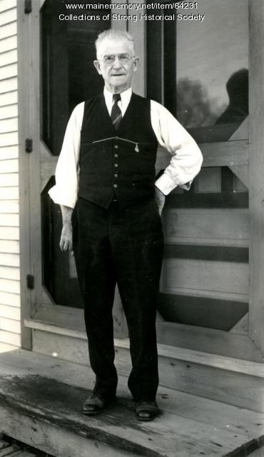William B. McKeen, Strong, ca. 1925