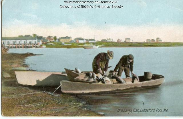 Fishermen, Biddeford Pool, ca. 1900
