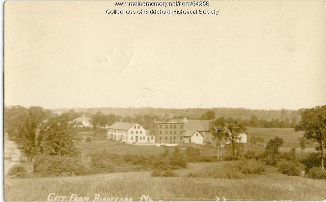 Poor Farm, Biddeford, ca. 1920