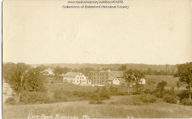 Poor Farm, Biddeford, ca. 1920
