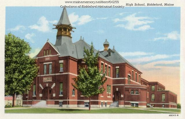 Biddeford High School, 1888