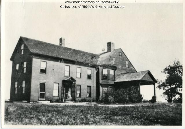 Jordan Estate, Biddeford, ca. 1920
