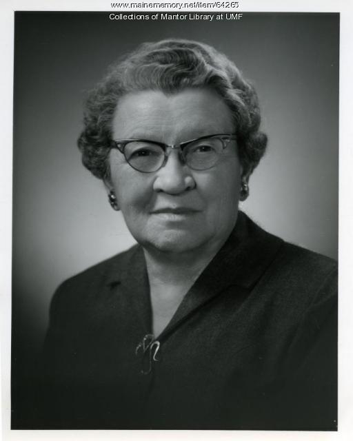 Agnes Mantor, Farmington, ca. 1955