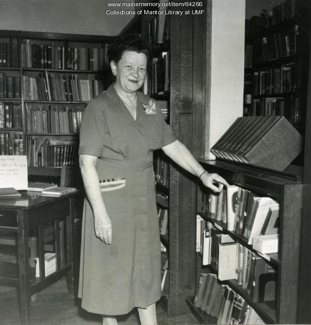 Agnes Mantor, Farmington State Normal School, ca. 1940