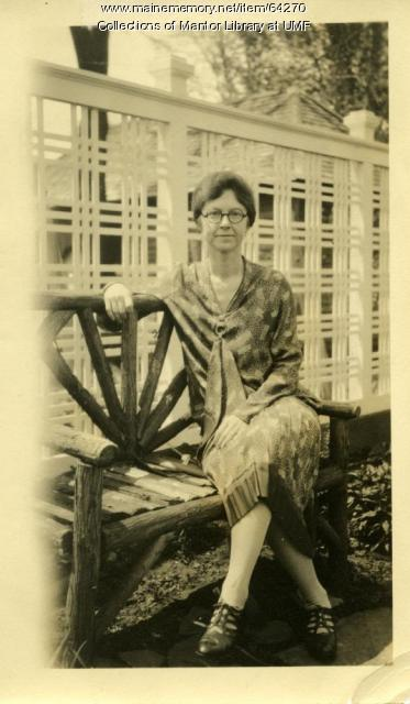 Mary Palmer, Farmington State Normal School, 1930