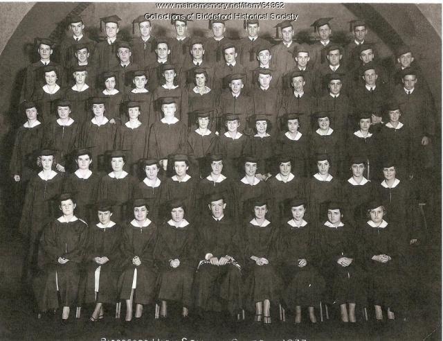 Biddeford High School graduating class, 1933