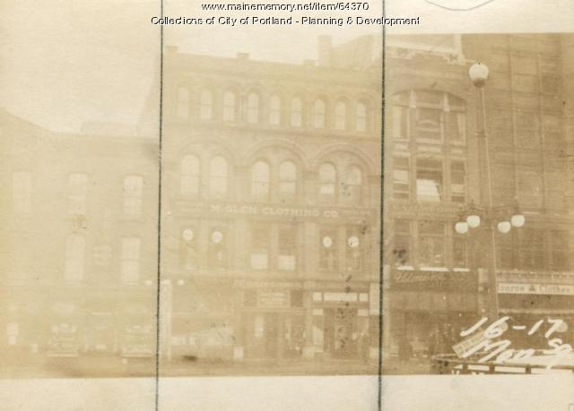 16-18 Monument Square, Portland, 1924