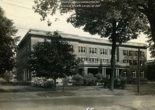 Purington Hall, Farmington State Normal School, 1936