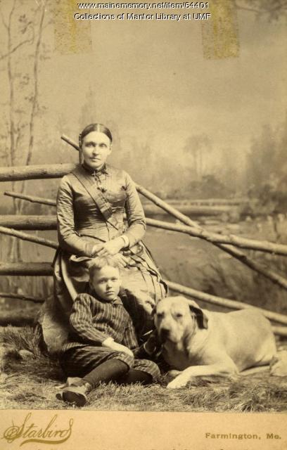 Purington family, Farmington, ca. 1890