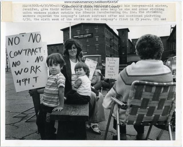 Edwards Manufacturing strike, Augusta, 1980